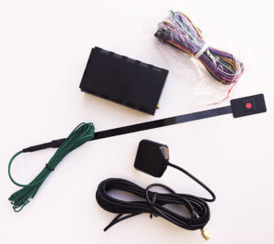 FM NxtG-V GPS tracker wiring connection contents