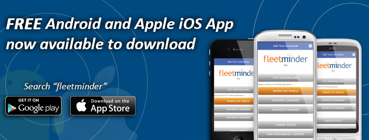 fleetminder mobile phone app