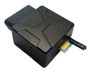 OBD300 OBD GPS vehicle tracking device open cover