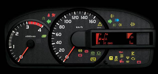 Automatic alerts truck dashboard and engine