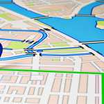 business GPS car trackers route map