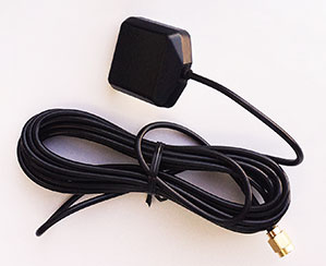 Car and van GPS antenna with long wire