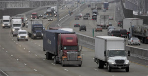 Fleet GPS tracking devices highway driving