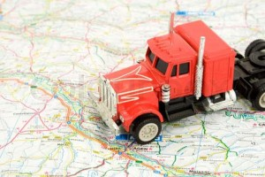 fleet gps tracking devices truck map