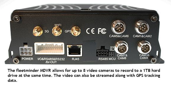 fleetminder MDVR GPS tracking with video