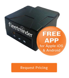 fleetminder OBD-300 car van GPS tracker with app