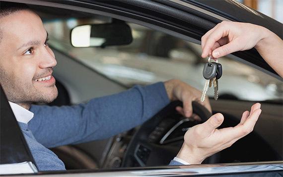 GPS car tracker installed in loan vehicle