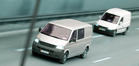 GPS vehicle tracking devices vans business