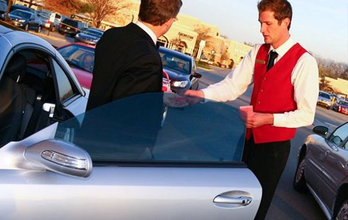 A GPS tracker monitors your valet