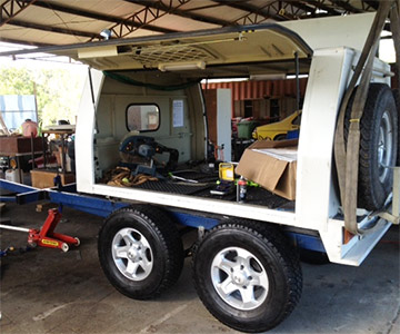 perth tradies gps vehicle trackers trailer