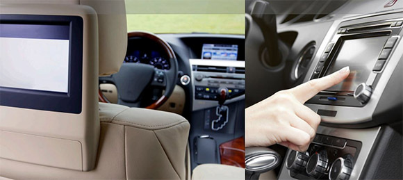 In car technology such as GPS trackers