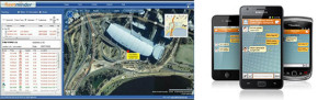 Live GPS tracking device and mobile