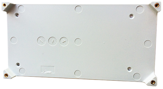LP1 GPS tracker supplied plastic plate
