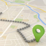 Map - GPS tracker reports increase revenue for business