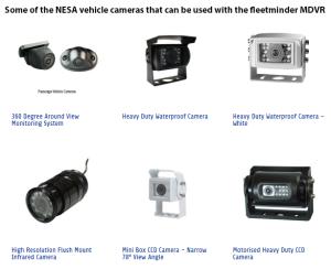 Neltronics NESA vehicle camera examples