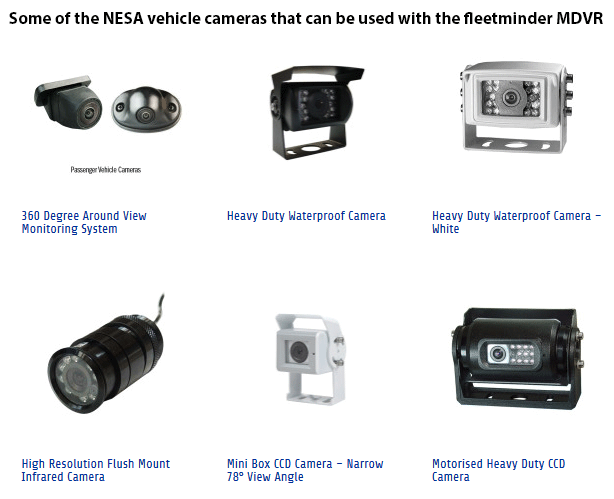 Neltronics NESA vehicle camera examples