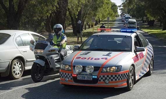 Police Australia GPS car trackers