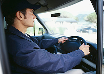 GPS truck tracking driver rfid identification