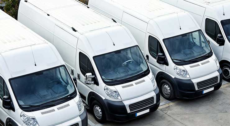Vans fleet GPS vehicle tracking